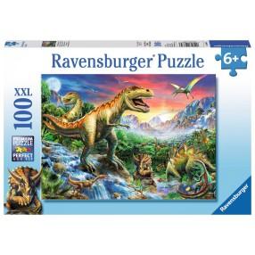Ravensburger - Puzzle XXL Epoka Dinozaurów 100 elem. 106653