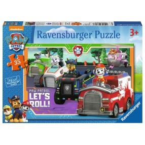 Ravensburger - Puzzle Psi Patrol 35 elem. 086177