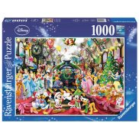 Ravensburger - Puzzle Święta z Rodziną Disney 1000 el. 195534
