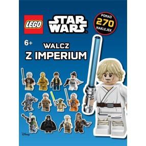 LEGO Star Wars - Książka Walcz z Imperium 270 naklejek LSW-5