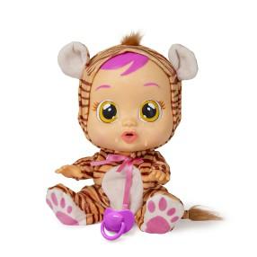 IMC Toys Cry Babies - Płacząca lalka bobas Nala Tygrys 96387