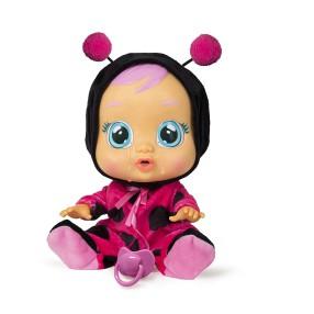 IMC Toys Cry Babies - Płacząca lalka bobas Lady Biedronka 96295