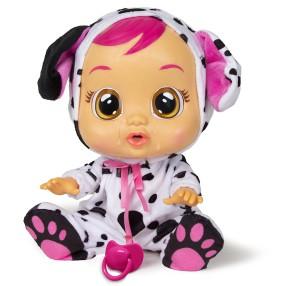 IMC Toys Cry Babies - Płacząca lalka bobas Dotty Dalmatyńczyk 96370