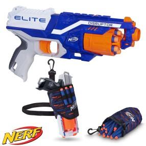 Hasbro Nerf N-Strike - Wyrzutnia Disruptor Elite B9837