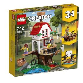 LEGO Creator - Poszukiwanie skarbów 3w1 31078