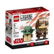 LEGO BrickHeadz - Luke Skywalker i Yoda 41627