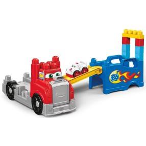 "Mega Bloks First Builders - Ciężarówka ""Buduj i ścigaj się"" FVJ01"