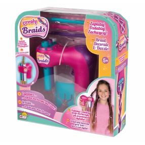 Lovely Braids - Zaplatacz warkoczyków zestaw z akcesoriami 06455