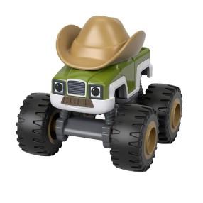 Fisher-Price Blaze - Metalowy samochodzik Cowboy Truck FHV26