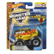 Hot Wheels Monster Jam - Superterenówka Inferno FLX12
