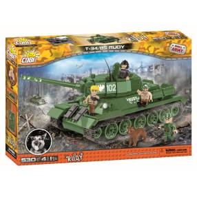 COBI Small Army - Czołg T-34/85 Rudy 102 2486