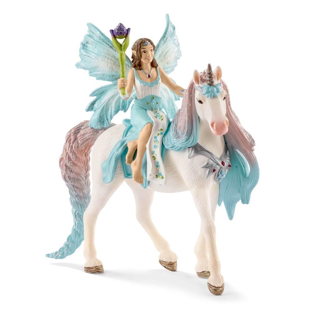 Schleich Świat Elfów Bayala - Wróżka Eyelaz z jednorożcem księżniczką 70569