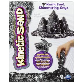Kinetic Sand - Piasek kinetyczny Połyskujący 454g - Czarny 20072095