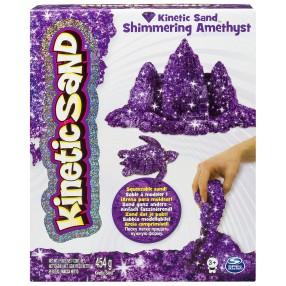 Kinetic Sand - Piasek kinetyczny Połyskujący 454g - Fioletowy 20072098
