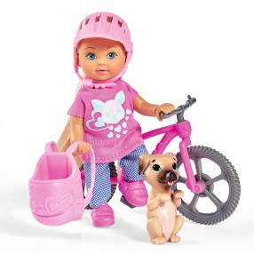 Simba Evi LOVE - Evi na rowerze górskim 5733273
