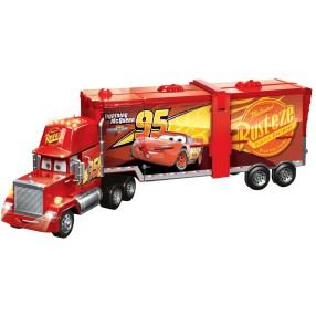 Mattel Auta - Mega Maniek Ciężarówka i Tor samochodowy 2w1 FPK72