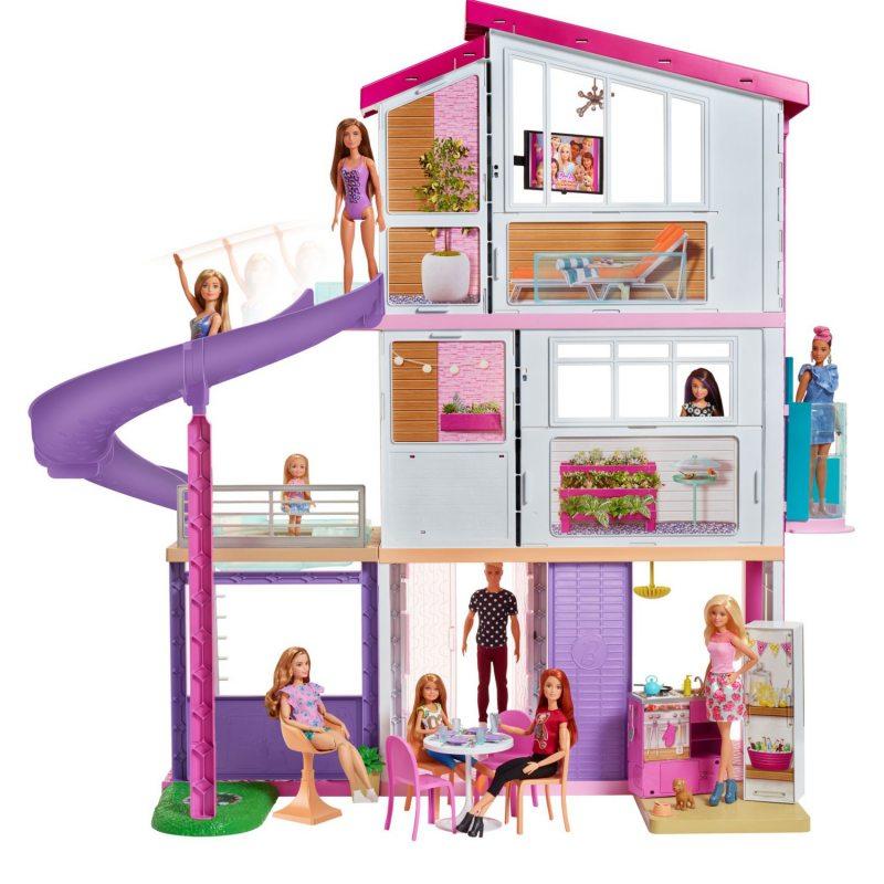 de479943fac4 Barbie - Idealny domek dla lalek Dźwięk Światło FHY73