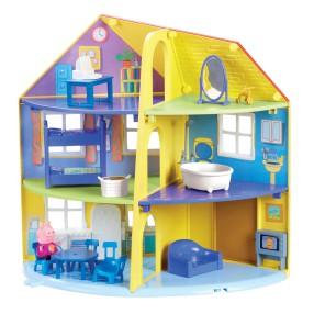 TM Toys Świnka Peppa - Dom Rodzinny z figurką i akcesoriami 06384