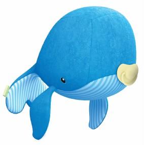 TM Toys Ocean Hugz - Maskotka Wielorybek i Projektor Latarnia Morska DKM6869