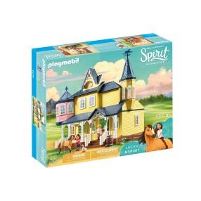 Playmobil - Szczęśliwy dom Lucky 9475