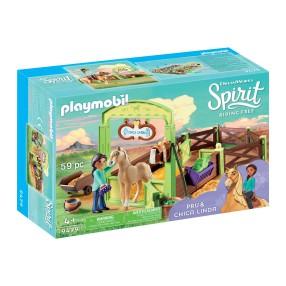 """Playmobil - Boks stajenny """"Pru i Ślicznotka"""" 9479"""