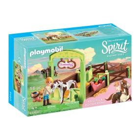 "Playmobil - Boks stajenny ""Abigail i Bumerang"" 9480"