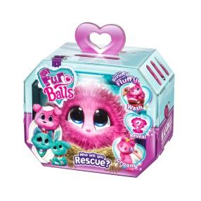 Fur Balls - Aqua Maskotka niespodzianka Różowa FUR635P