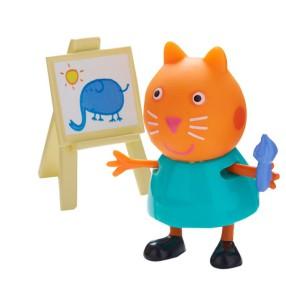 TM Toys Świnka Peppa - Figurka Kot Candy z tablicą 05680 J