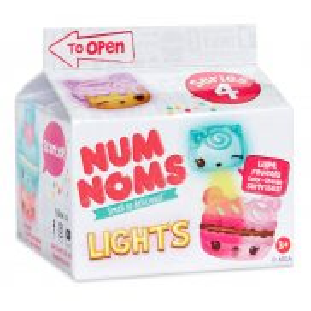 Num Noms - Pudełeczko z niespodzianką Lights Mystery Świecące Seria 4.1 554417