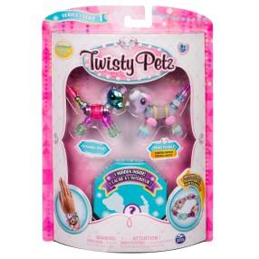 Spin Master Twisty Petz - Bransoletki Sunshiny Pony i Posie Poodle + niespodzianka 3-pak seria 1 20103205