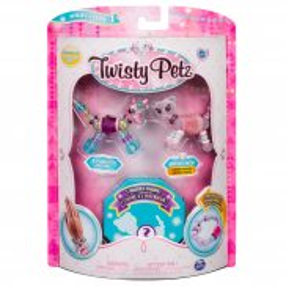 Spin Master Twisty Petz - Bransoletki Butterscotch Unicorn i Berrytales Cheetah + niespodzianka 3-pak seria 1 20103209