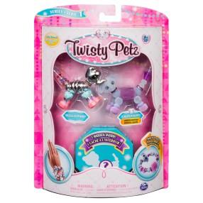 Spin Master Twisty Petz - Bransoletki Razzle Elephant i Pupsicle Puppy + niespodzianka 3-pak seria 1 20103204