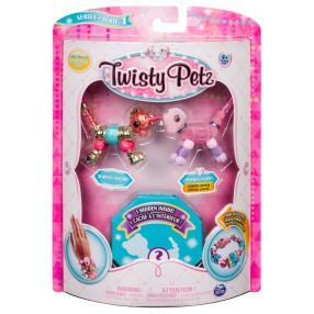 Spin Master Twisty Petz - Bransoletki Marigold Unicorn i Cakepup Puppy + niespodzianka 3-pak seria 1 20103208