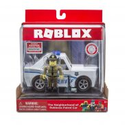 Roblox - Figurka i pojazd The Neighborhood of Robloxia Patrol Car 10772