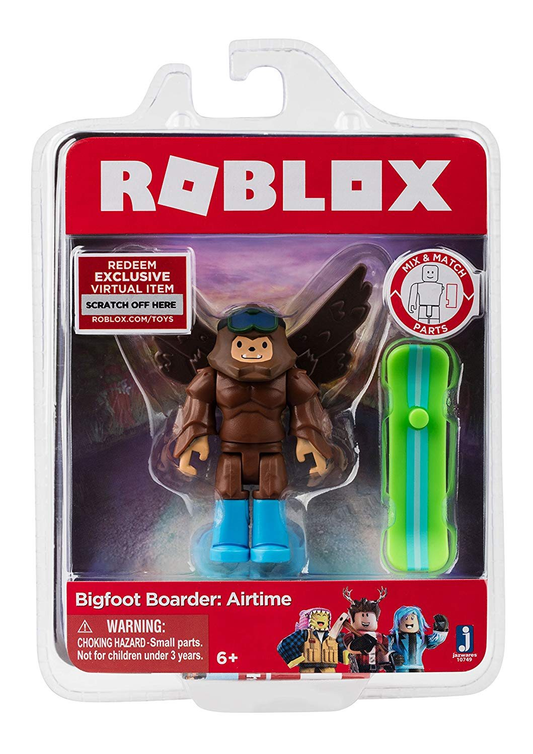 Roblox Figurka Bigfoot Boarder Airtime 10749