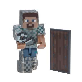 Minecraft - Figurka Steve w zbroi z łańcucha 16493