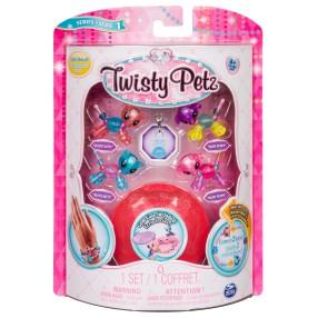 Spin Master Twisty Petz - Mini Bransoletki ze szkatułką Kotki i Pieski seria 1 20103015