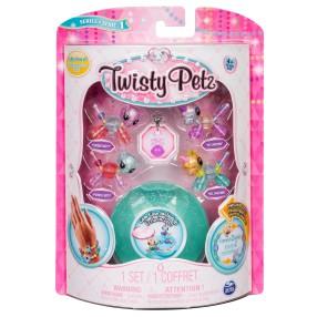Spin Master Twisty Petz - Mini Bransoletki ze szkatułką Kotki i Jednorożce seria 1 20103019
