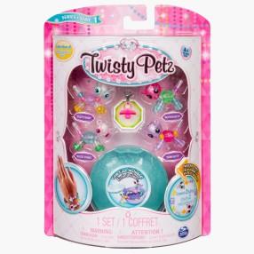 Spin Master Twisty Petz - Mini Bransoletki ze szkatułką Pandy i Kotki seria 1 20103018