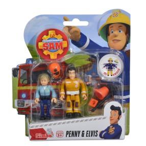 Simba - Strażak Sam 2 Figurki z akcesoriami Penny i Elvis 9251026 D