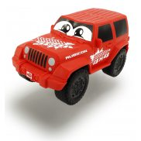 Dickie Happy - Jeep Wrangler Squeezy czerwony 3811001 A