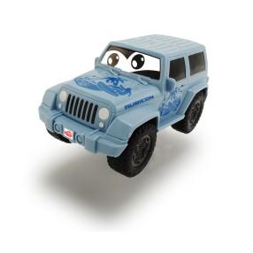 Dickie Happy - Jeep Wrangler Squeezy niebieski 3811001 B