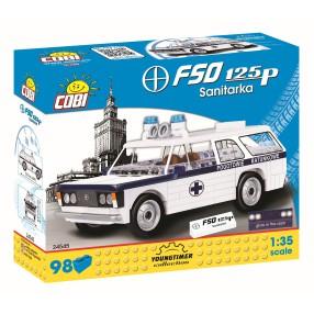 COBI Youngtimer - FSO Fiat 125P Sanitarka 24545
