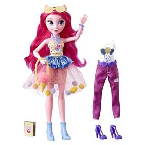 My Little Pony Equestria Girls - Modne lalki Lalka Pinkie Pie + Akcesoria E2746