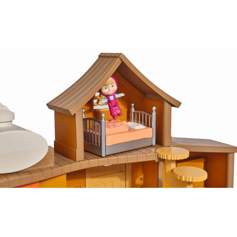 Simba 5144 Masza i Niedźwiedź Dwupoziomowy dom Niedźwiedzia (39908)
