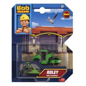 Dickie Bob Budowniczy - Metalowy pojazd walec Roley 1:64 3131012 C