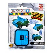 "Pocket Morphers - Figurka ""0"" Pojazd Army Jeep 6873"