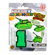 "Pocket Morphers - Figurka ""1"" Pojazd Tank Attack 6874"