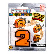 "Pocket Morphers - Figurka ""2"" Pojazd Chopper 6875"