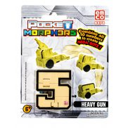 "Pocket Morphers - Figurka ""5"" Pojazd Heavy Gun 6878"